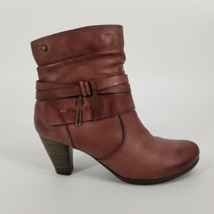 NEW Pikolinos Verona leather ankle boot heel 39 9